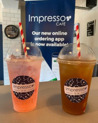 You know we never disappoint 😉  Here we go 🤩  Iced Peach tea 🍑   Iced Watermelon tea 🍉